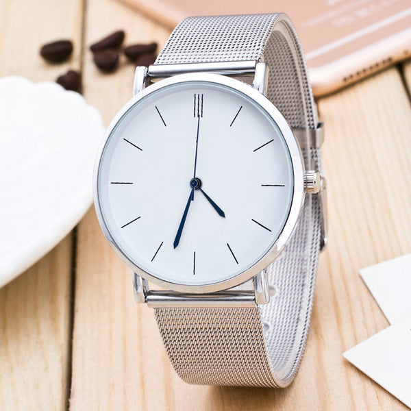 stainless steel luxury business men wristwatches