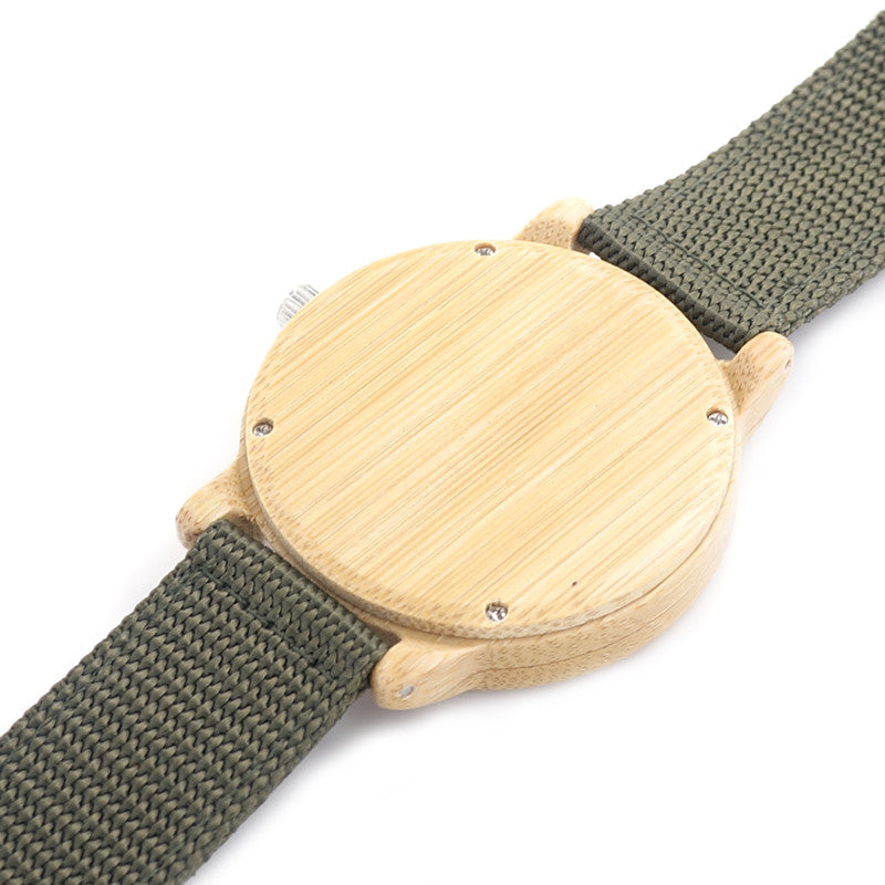 BOBO BIRD Mens Natural Wood Bamboo Watches - men watches - 99fab.com