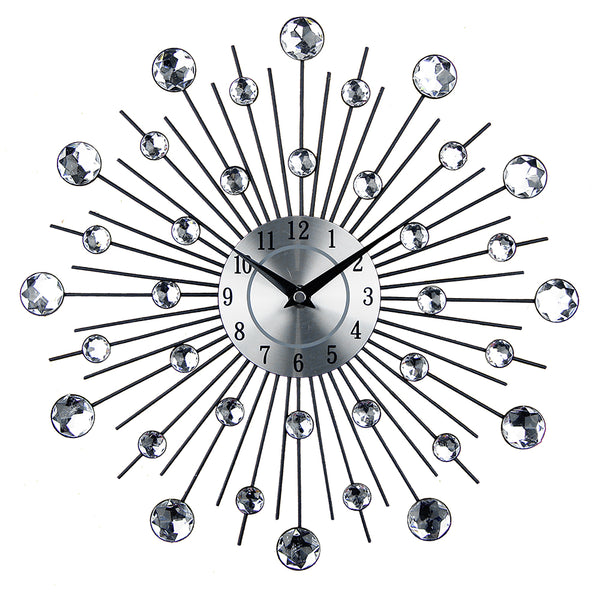 Vintage Metal Art Wall Clock