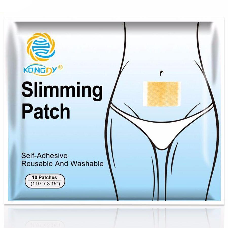 KONGDY New Slimming Navel Stick Slim Patch 10 pieces/Bag - Slim pack - 99fab.com