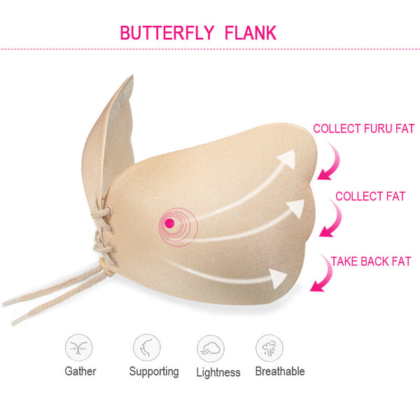 Sexy Women Strapless Backless Seamless Invisible Bra Self-Adhesive Push Up Free Stick - women beauty - 99fab.com