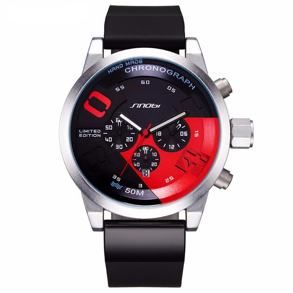 Chronograph Waterproof Sports Watches