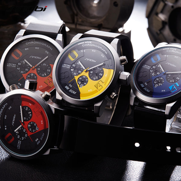 Chronograph Waterproof Sports Watches - men watches - 99fab.com