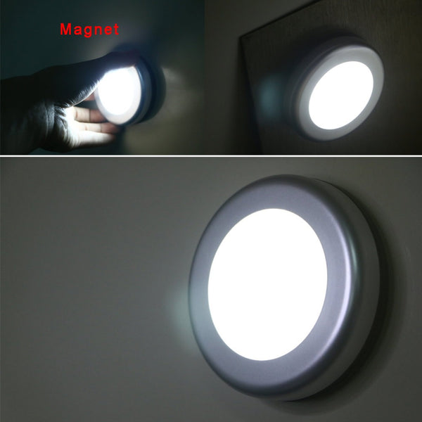 Wireless Sensing Mode Motion Sensor Activated Nightlight 6 LED