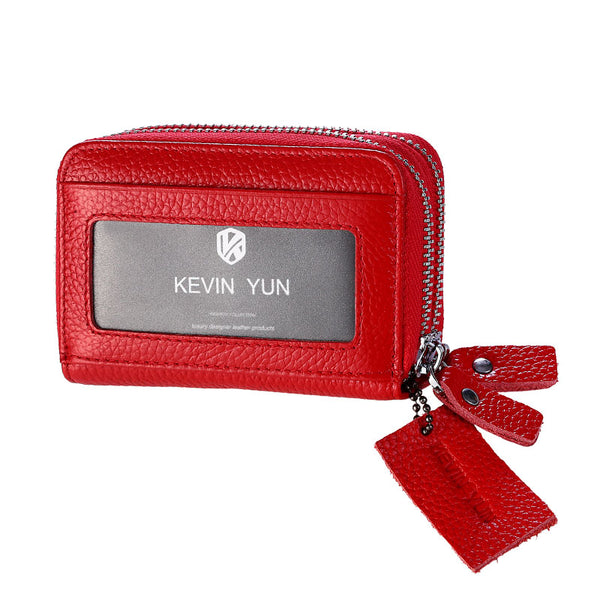 KEVIN YUN Genuine Leather Women Card Holder - women bags - 99fab.com