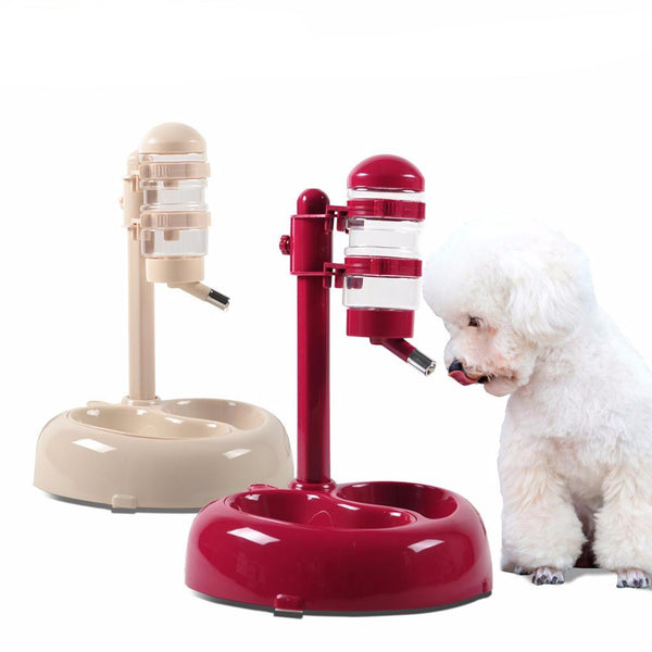 Advanced Pet Drinking Rotatable and Lift Food Bowl - pet - 99fab.com