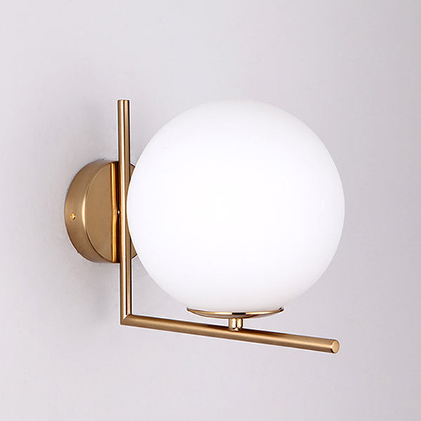 Glass LED Ball Globe Wall Lights Indoor Home Decoration Lighting E27 Luminaire