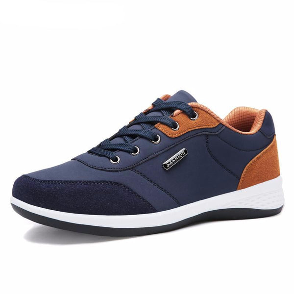 Men Autumn Lace up British Style Breathable Mesh Suede - men shoes - 99fab.com