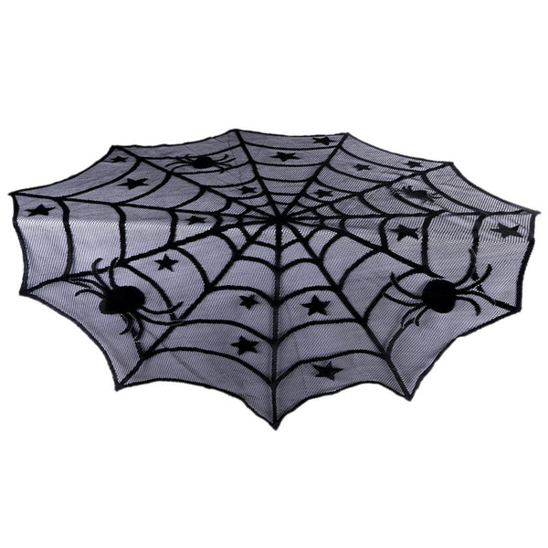 Halloween Party Decoration Spiderweb Table Cloth - halloween - 99fab.com