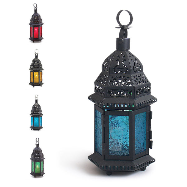 Moroccan Delight Garden Candle Holder table/hanging Lantern