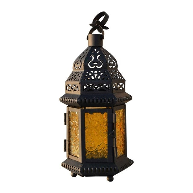 Moroccan Delight Garden Candle Holder table/hanging Lantern - candle holder - 99fab.com