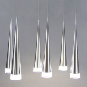 Simple led Pendant Lights Modern Aluminum Hand Lighting Conical Pendant Lamps - pendant lamp - 99fab.com