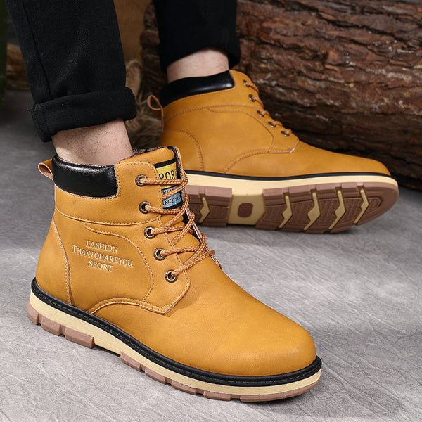 Men's Snow Boots Warm Winter Shoes - men shoes - 99fab.com