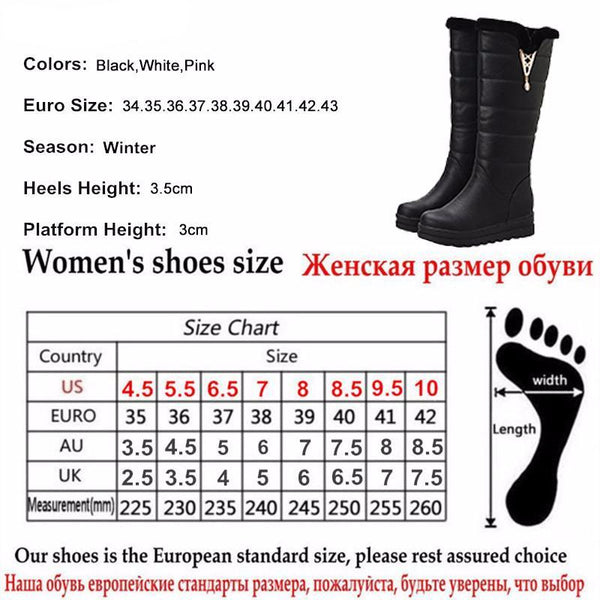 Woman  Sexy Crystal Snow Boots