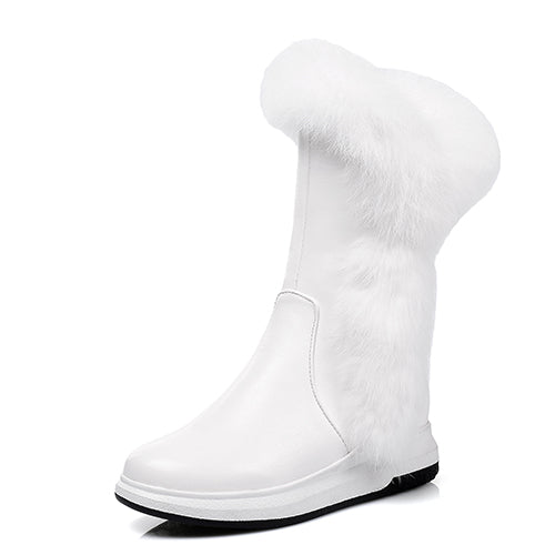 Animal Fur Women Snow Boots - women shoes - 99fab.com