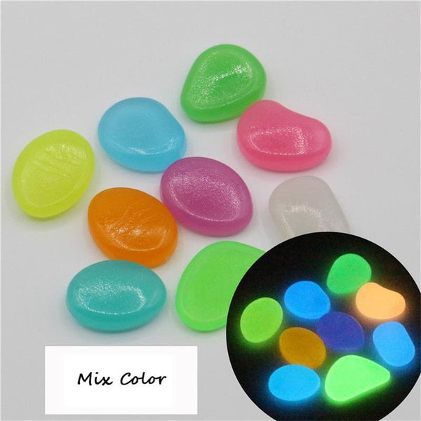 Luminous Pebbles Glow Stones - decor - 99fab.com