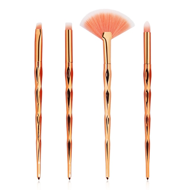 MAANGE 7/10Pcs Diamond Makeup Brushes Set - Makeup Brushes - 99fab.com