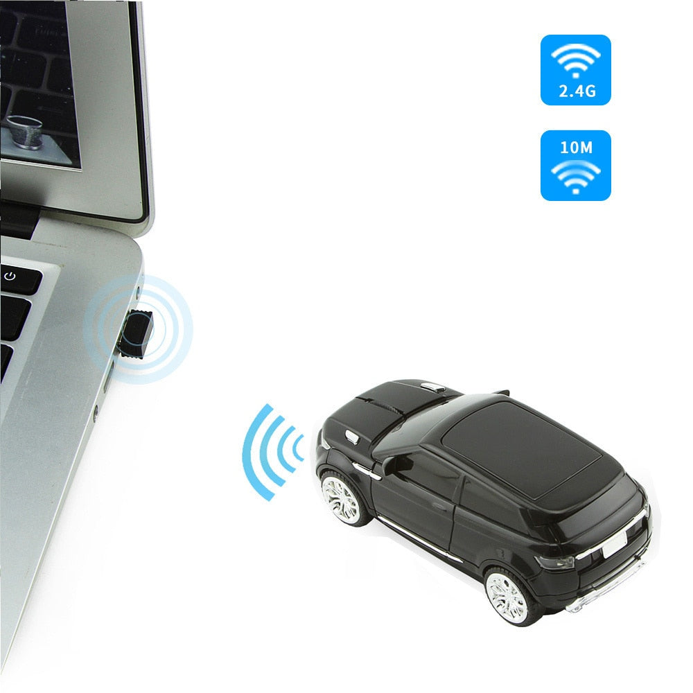 Creative Cool Wireless SUV Sport Car 1600DPI Optical Gamer Mouse