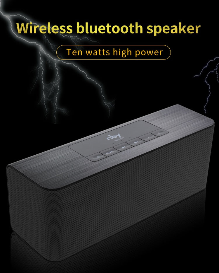 Portable Wireless Bluetooth High-definition Dual Loud speakers - speaker - 99fab.com