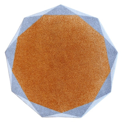 Luxury Modern Octagon Shaped Carpet - decor - 99fab.com