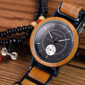 BOBO BIRD Wooden Men women Watches Luxury Stylish Relogio Masculino - watches - 99fab.com