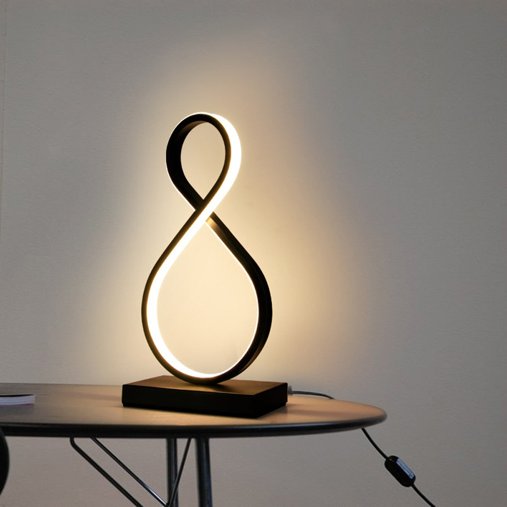 Modern LED Table Lamps Indoor Decoration Desk Lights Study Lamp Nordic - table lamp - 99fab.com