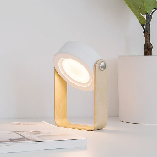 Foldable Touch Dimmable Reading LED Night Light Portable Lantern Lamp - led light - 99fab.com