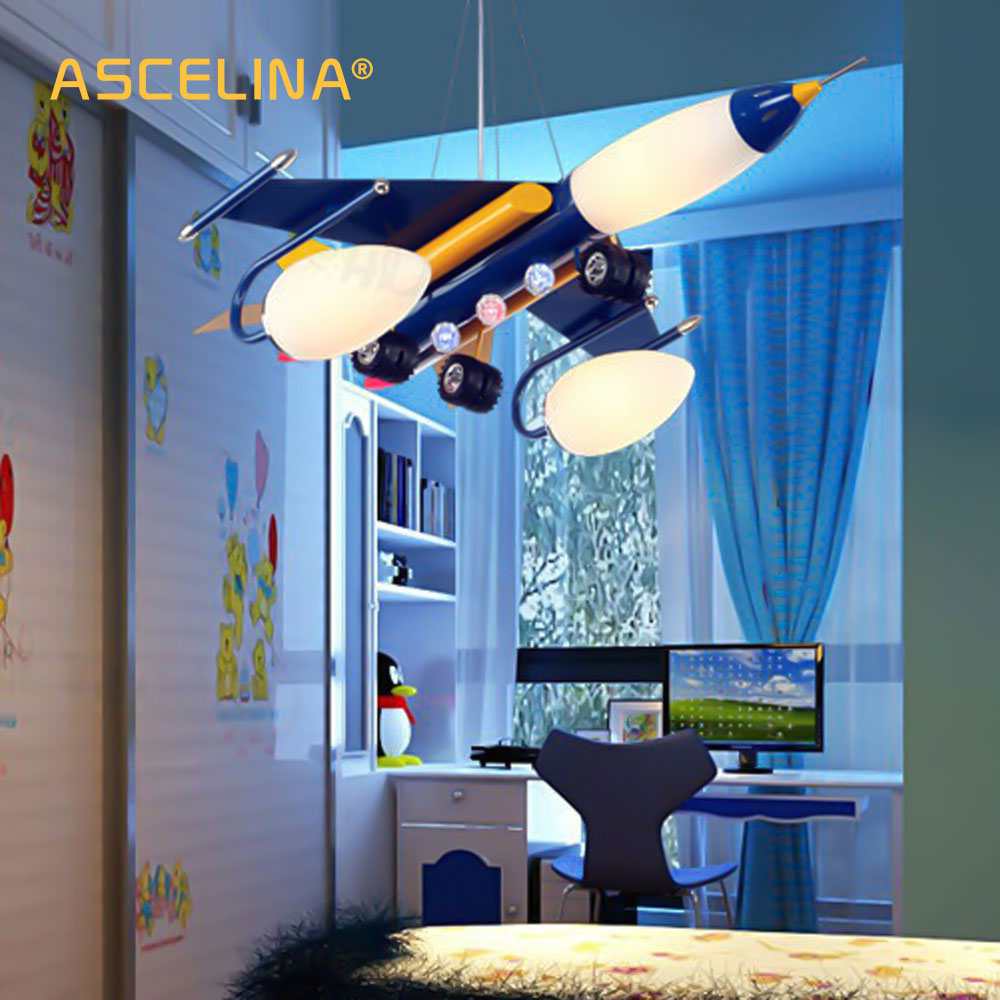 Airplane Pendant Lamp