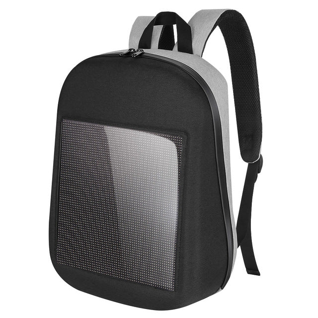 WIFI Version Smart LED Dynamic Waterproof Backpack - gadget - 99fab.com