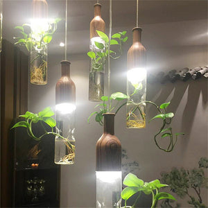 Restaurant Bar Aquarium Glass Lamps Hanging Fixtures
