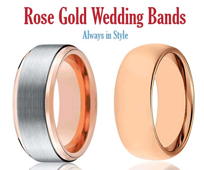 Rose Gold Tungsten