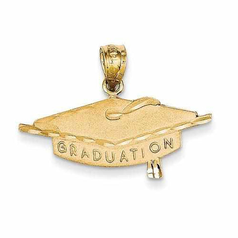 Image of 14k Graduation Charm - Pendant - Aydins_Jewelry