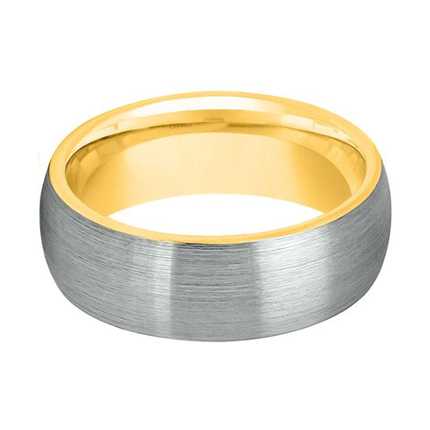 Image of Gold Tungsten Men's Wedding Band - Rings - Aydins_Jewelry