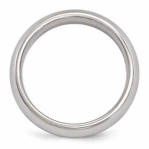 Image of Edward Mirell Titanium Polished Band - 6mm - Rings - Aydins_Jewelry