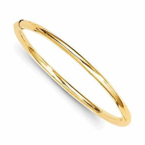 14k Madi K 2.5mm Slip-On Baby Bangle - Bracelet - Aydins_Jewelry