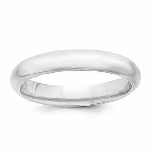 Sterling Silver 4mm Comfort Fit Band - AydinsJewelry