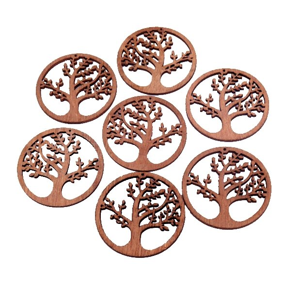 10 pcs/set Wooden Design Large size - fingla.com