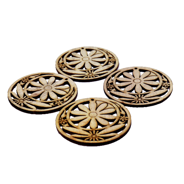 10 pcs/set Wooden Design Large size