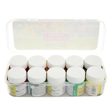 10 pcs/box Fevicryl Acrylic Colours