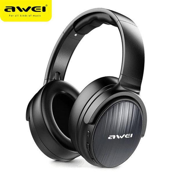 AWEI A780BL Bluetooth Headset Black - fingla.com