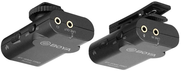 BOYA by-WM4 Pro Wireless Lavalier Microphone - fingla.com