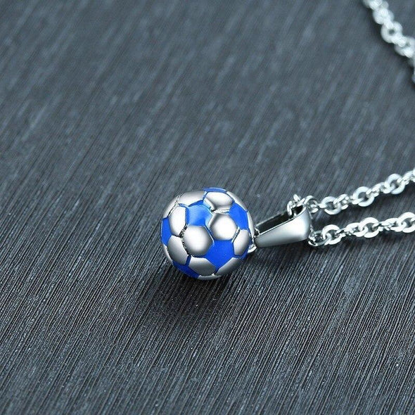 Casual Football Necklaces Soccer Pendant - fingla.com