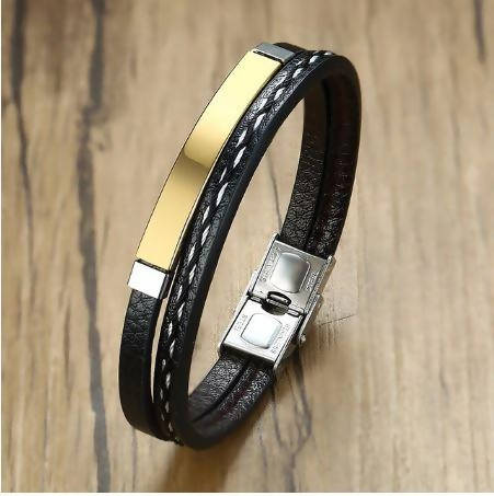 Stainless Steel Casual Bracelets