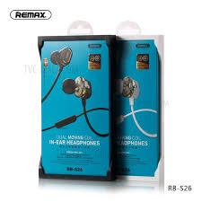 Remax RB-S26 Dual Moving Bluetooth Wireless Earphone - Black
