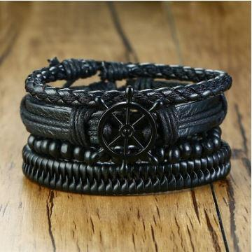 Ethnic Tribal Wristbands Bracelet 4Pcs/ Set - fingla.com
