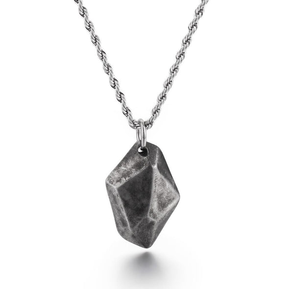 Fashion Wishing Stone Style Pendants Stainless Steel Chain - fingla.com