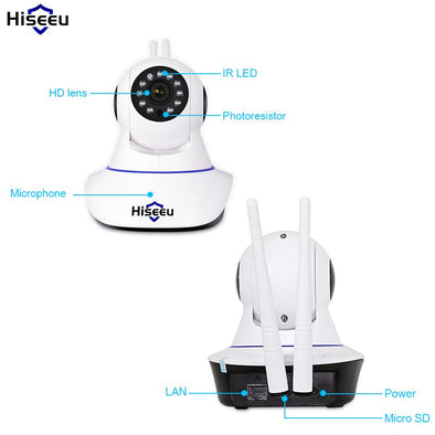 IP Camera Wireless 1080P CCTV - fingla.com