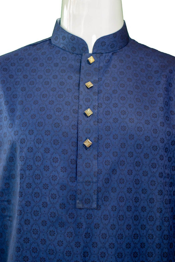 Luxurious Stylish Exclusive Trendy Look Indian jacquard Cotton Panjabi 47 - fingla.com