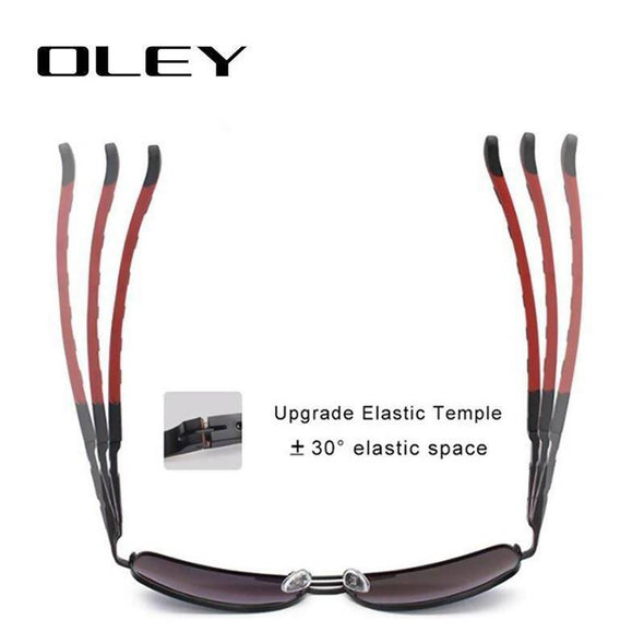 OLEY Brand Polarized Sunglasses Men New Fashion Eyes Protect C6 - fingla.com