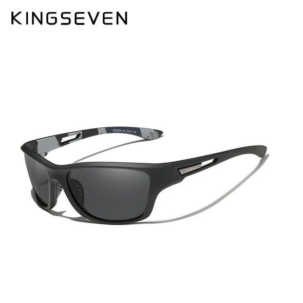 Polarized Sunglasses Driving Shades Outdoor Sports Black - fingla.com